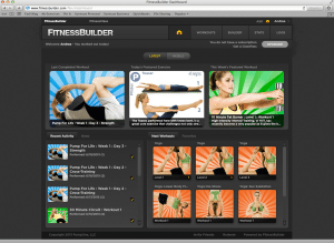 Fitness Builder App