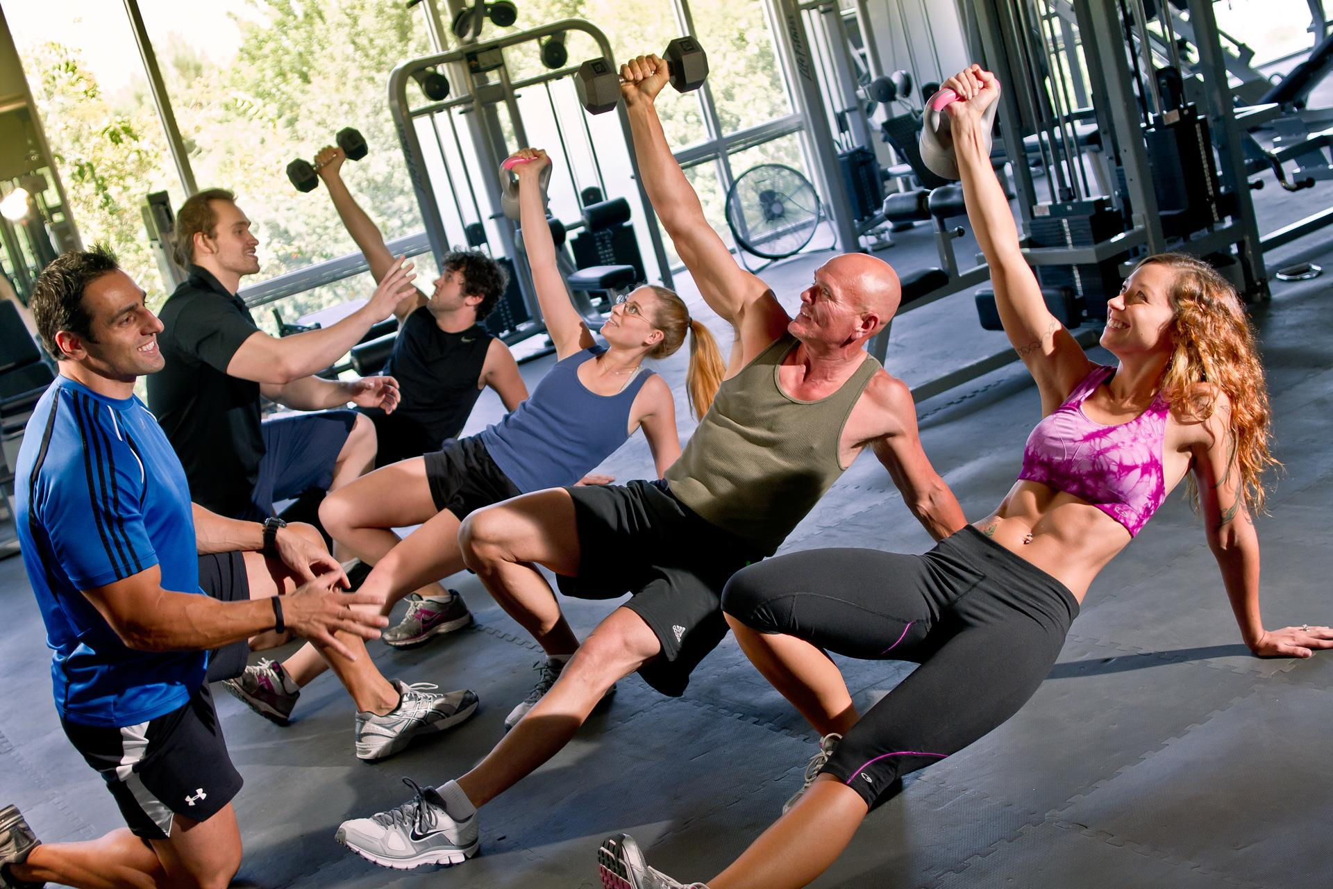 Functional fitness training exercises