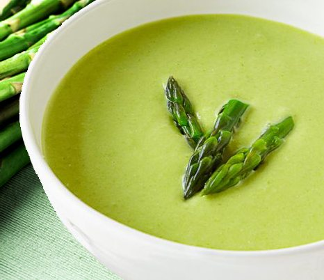Vitamix Recipes Asparagus Soup and Strawberry Lemonade | Celebrity ...
