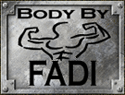 Body By Fadi Logo, Logo Design by 678pc